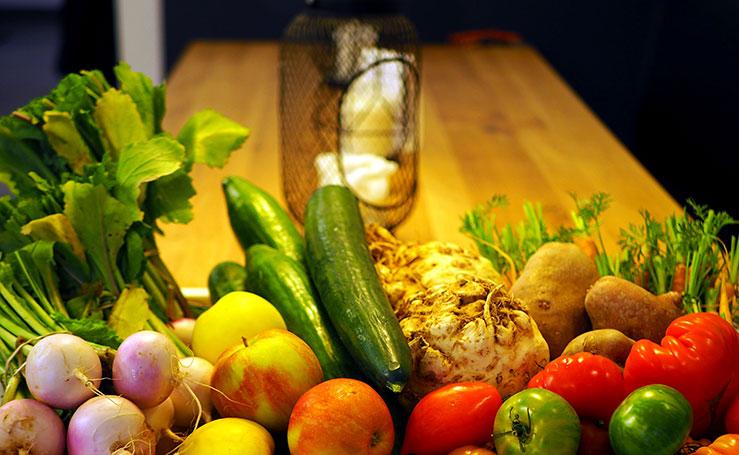 Plats de cuisine française fait maison avec aliments frais